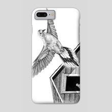 Mourning Doves - Phone Case by Colin Hayes