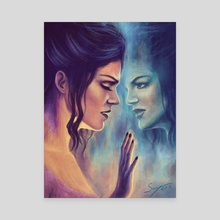 Mirror, Mirror - Canvas by Svenja Gosen
