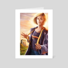 DOCTOR WHO: 13th Doctor - Art Card by Jose Rod Mota