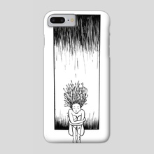 solitude - Phone Case by Natalie Saez