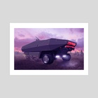 Crawler - Art Print by oliver bown