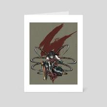 spider demon - Art Card by sativieans