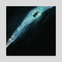 Europa - Canvas by Sammy Hall