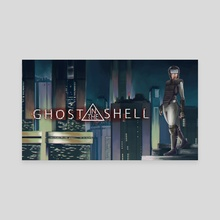 Ghost in The Shell - Canvas by Morrigan (Momo)