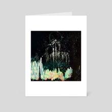 STP Screen Transfer Process - 0124 - World Tree Overgrowth 7 - Art Card by Wetdryvac WDV
