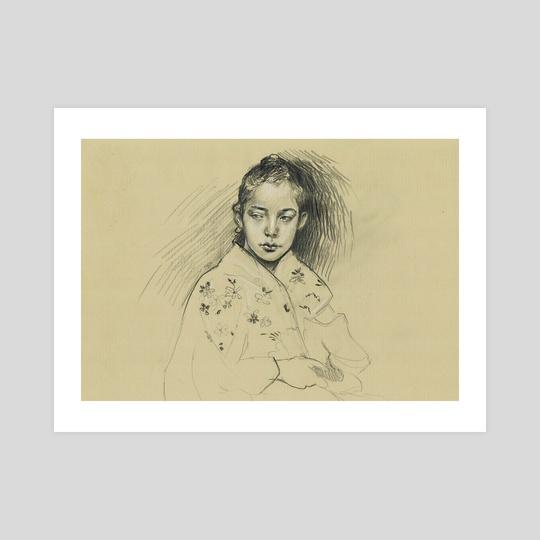 Portrait of a Girl by Margarida Ramos Matias