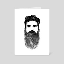 El Hipster - Art Card by Rui Faria