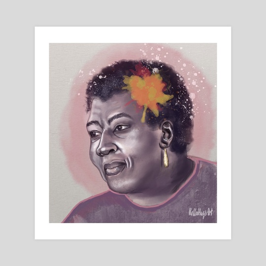 Octavia E. Butler by Kelly Huggins