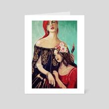 Two Marys - Art Card by Stephan Parylak