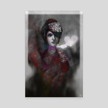 Love smoker - Canvas by Chris Rees