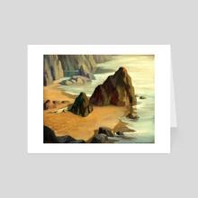 Pirate's Landing by V.P. Shkurkin - Art Card by Katya Shkurkin