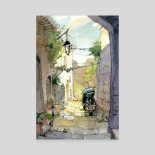 Viterbo 02 - Canvas by POM