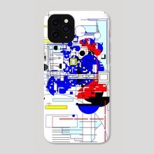 Data Field - Phone Case by Alberto Carlos  Montana  © ( ͡° ʖ̯ ͡°)