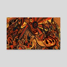 Abstraction #34 - Canvas by Tylor Mead