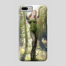 Ivy's Genesis - Phone Case by Andrew Dobell