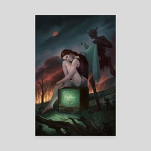 The Night's Pity - Canvas by Alix Branwyn