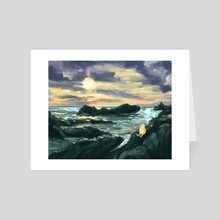 I'll See the Ocean Again - Art Card by Lindsey Leigh