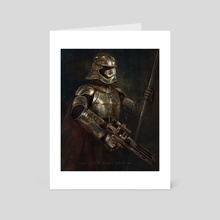 Star Wars, Phasma - Art Card by Joe Roberts