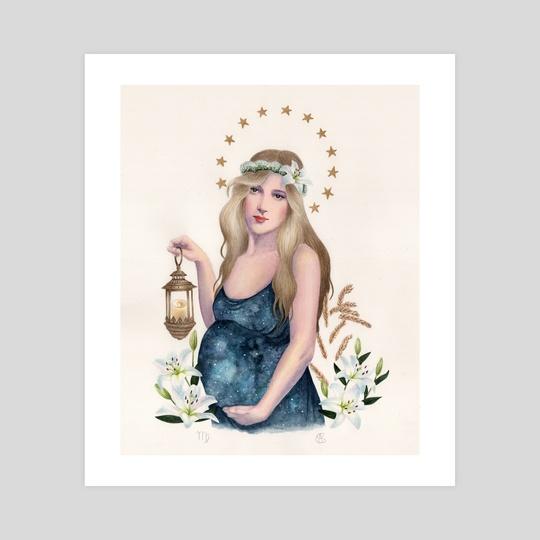 Virgo by Anne-Sophie Cournoyer