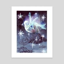 Geist II - Canvas by Isabel Gomez