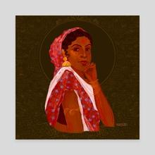 Black Beauty - Canvas by Dhanashree Pimputkar