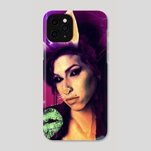 Amy Winehouse - Phone Case by Vanja Rancic