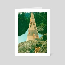 Here Comes The Summer - Art Card by jesse treece