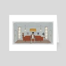joon's room - Art Card by fruitforrest
