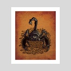 Scorpion - Art Print by Carl Conway