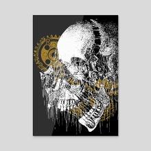 Man Eating Machine - Acrylic by Morbid Studio