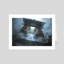 The Fortified Monastery - Art Card by Chris Ostrowski