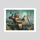 MtG - Rules Lawyer - Art Print by Dmitry Burmak
