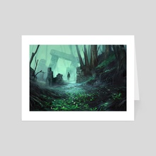 Relicts in the Forest - Art Card by Nele Diel