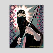 Gisele Marie Rocha, Muslim Women Are Everything - Canvas by Fahmida Azim