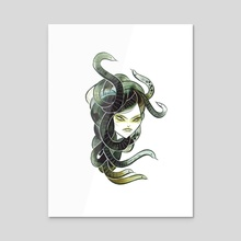 medusa - Acrylic by Emma SanCartier