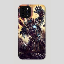 Finish Him - Phone Case by Peter Petkov