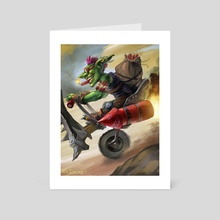 Goblin Bomber - Art Card by Steve Donegani