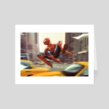 Spider-man - Art Card by Tom Velez