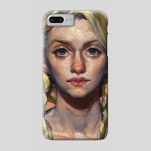 Just Peachy - Phone Case by John Larriva