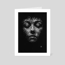 Sorrowful Yesterdays - Art Card by Liz Y Ahmet