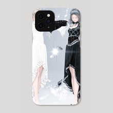 one-winged angels - Phone Case by Yashiro Amamiya