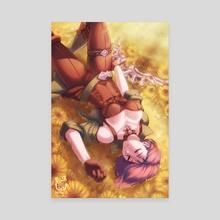 Shamir of the Sunflowers - Canvas by Hakuramen