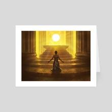 Sunbond - Art Card by Noah Bradley