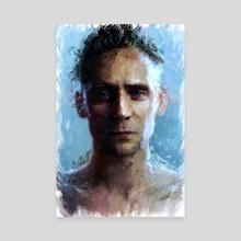 Tom Hiddleston - Canvas by Maxim G
