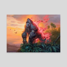Simian Spirit Guide - Canvas by Lucas Graciano