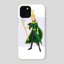 Loki - Phone Case by Anna Eng