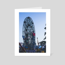 Wonder Wheel - Art Card by Mark Mis