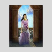 Esther, persian queen - Canvas by Ivan Garcia