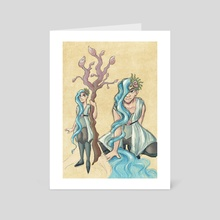 Water Witch - Art Card by Sarah M