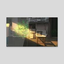 alley - Acrylic by aurahack